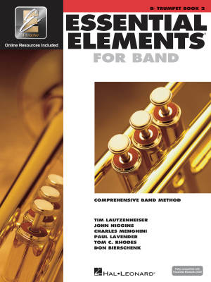 Essential Elements for Band Book 2 - Trumpet - Book/Media Online (EEi)