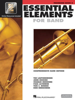 Essential Elements for Band Book 2 - Trombone - Book/Media Online (EEi)