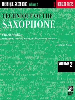 Technique of the Saxophone - Volume 2