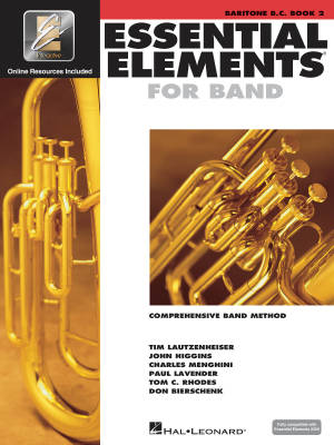 Essential Elements for Band Book 2 - Baritone B.C - Book/Media Online (EEi)