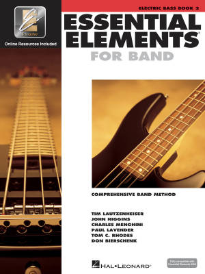 Essential Elements for Band Book 2 - Electric Bass - Book/Media Online (EEi)