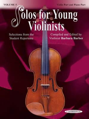 Solos for Young Violinists Violin Part and Piano Acc., Volume 5