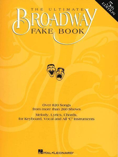Hal Leonard The Ultimate Broadway Fake Book 5th Edition Long