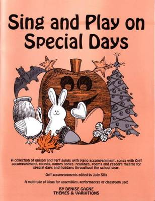 Sing and Play on Special Days - Gagne - Book/CD