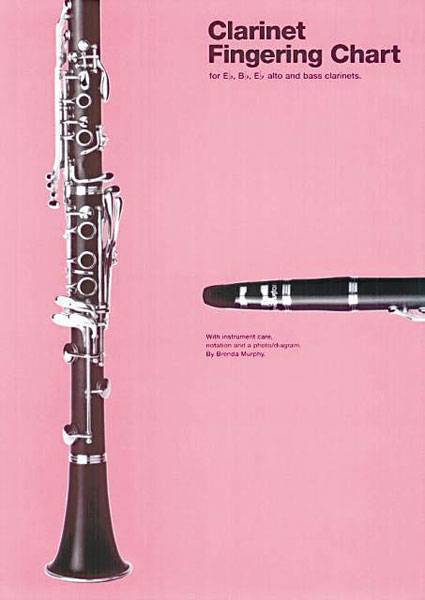 Music Sales Clarinet Fingering Chart  Long  Mcquade Musical