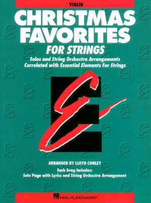 Essential Elements Christmas Favorites for Strings - Conley - Violin - Book