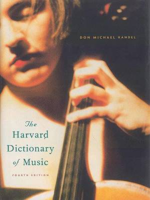 The New Harvard Dictionary of Music (4th Edition)