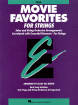 Hal Leonard - Essential Elements Movie Favorites for Strings - Del Borgo - Cello - Book