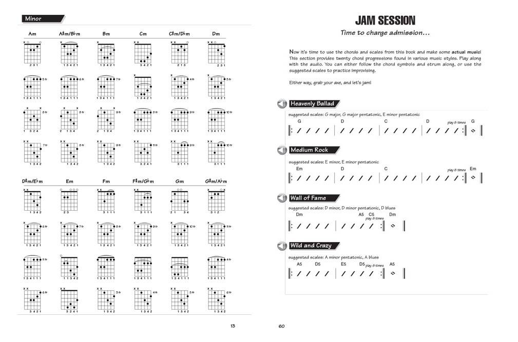 Hal Leonard FastTrack Guitar Method - Chords & Scales - Book/Audio ...