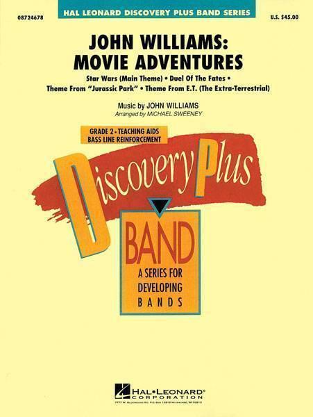 Hal Leonard John Williams Movie Adventures Long