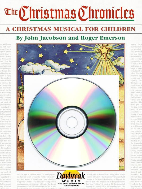 The Christmas Chronicles Dvd.Hal Leonard The Christmas Chronicles Musical Emerson Jacobson Cabaniss Choirtrax Cd