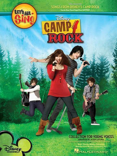 Disney Camp Rock Guitar : Hal leonard let s all sing songs from disney camp rock