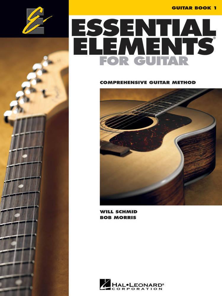 Hal Leonard Essential Elements For Guitar Book 1 Schmidmorris