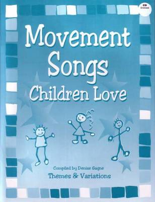 Movement Songs Children Love - Gagne - Book/CD