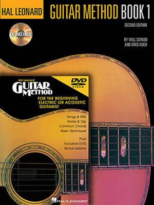 hal leonard hal leonard guitar method 1 pack book cd dvd long mcquade musical instruments. Black Bedroom Furniture Sets. Home Design Ideas