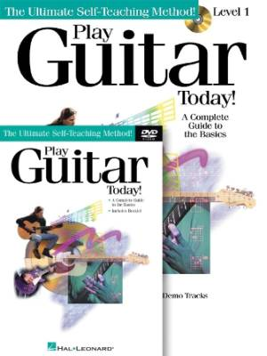 Play Guitar Today! Beginner's Pack - Guitar TAB - Book/Audio Online/DVD Pack