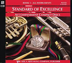 Standard of Excellence (SOE) Bk 1, CD Part 1 & 2