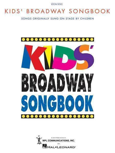 Kids Broadway Songbook Song List