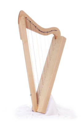 Harpsicle 26-string Harp - Maple