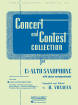 Rubank Publications - Concert and Contest Collection for Eb Alto Saxophone - Voxman - Piano Accompaniment - Book
