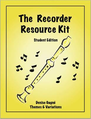 Recorder Resource Student Book 1 - Gagne - Book