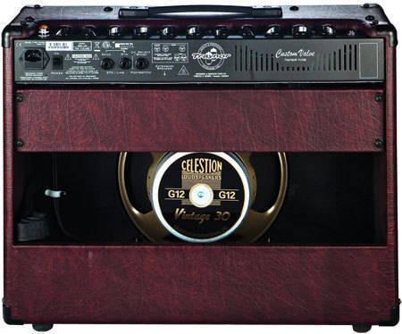 Custom Valve 40 Watt All-Tube 1x12 Guitar Combo Amp - Wine Red