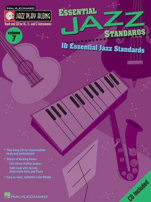 Essential Jazz Standards: Jazz Play-Along Volume 7 - Book/CD