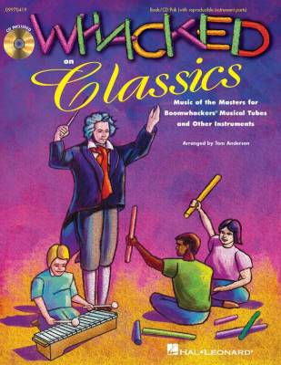 Whacked on Classics (Collection) - Anderson - Book/CD