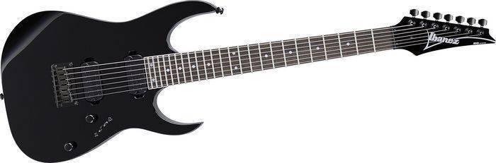 ibanez rg7321 fixed bridge 7 string black long mcquade musical instruments. Black Bedroom Furniture Sets. Home Design Ideas