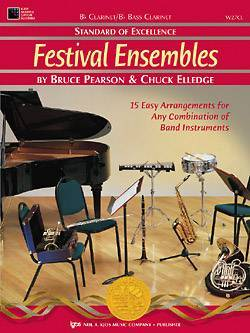 Standard of Excellence: Festival Ensembles, Book 1 - Clarinet/Bass Clarinet