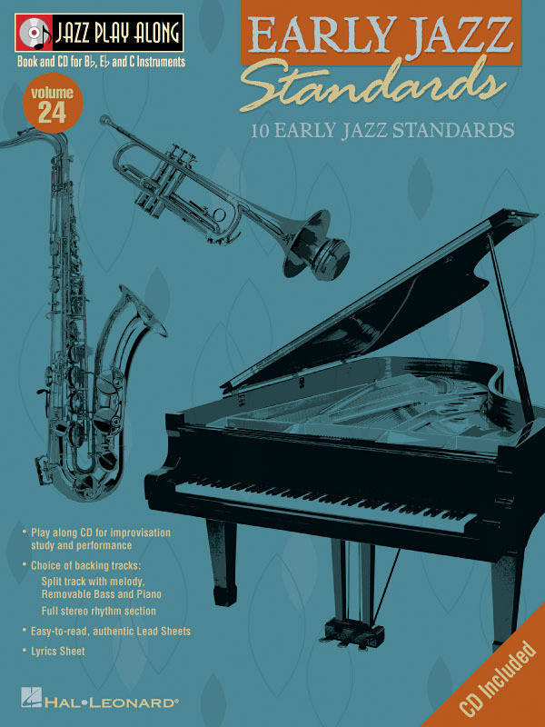 Hal Leonard - Early Jazz Standards: Jazz Play-Along Volume 24 - Book/CD
