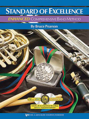 Standard of Excellence Book 2 Enhanced - Timpani/Aux