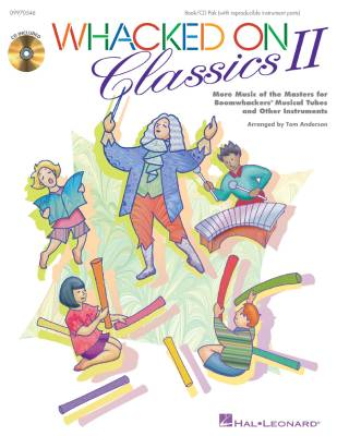 Whacked On Classics II (Collection) - Anderson - Book/CD