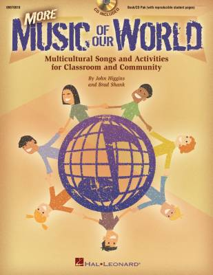 More Music of Our World - Higgins/Shank - Book/CD