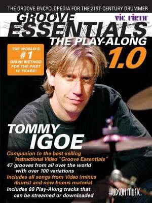 Groove Essentials 1.0 - The Play-Along - Igoe - Drum Set - Book/Audio Online