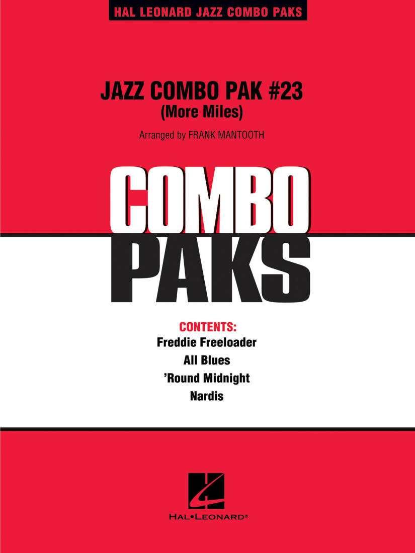 Hal Leonard - Jazz Combo Pak #23 (More Miles Davis) - Mantooth - Jazz  Combo/Audio Online - Gr  3