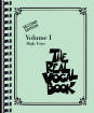Hal Leonard - The Real Vocal Book - Volume I - High Voice