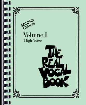 The Real Vocal Book - Volume I - High Voice