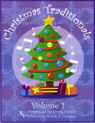 Christmas Traditionals Volume 1 (Collection) - Traditional/Cassils - Unison/2pt - Book/CD