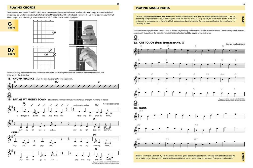 Hal Leonard Essential Elements For Guitar Book 1 - Schmid/Morris ...