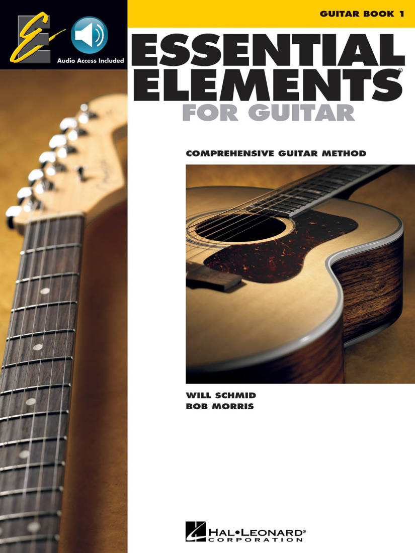 buy popular 4550f 2df1a Hal Leonard Essential Elements For Guitar Book 1 - Schmid Morris -  Book Audio Online - Long   McQuade Musical Instruments