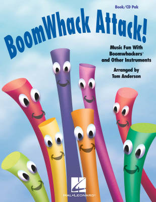 BoomWhack Attack! (Collection) - Anderson - Book/CD