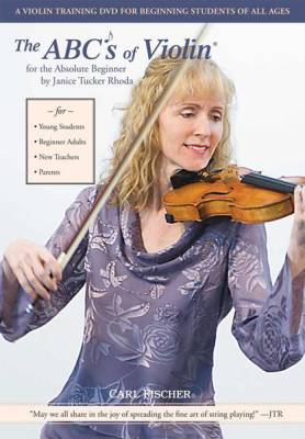 The Abcs Of Violin For The Absolute Beginner Dvd