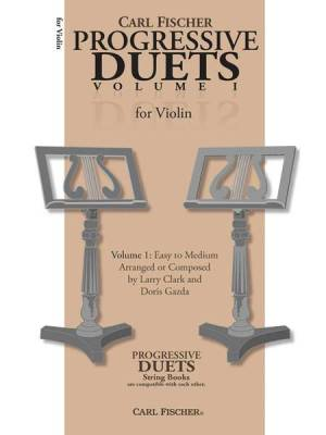 Carl Fischer Progressive Duets Volume 1 - For Violin