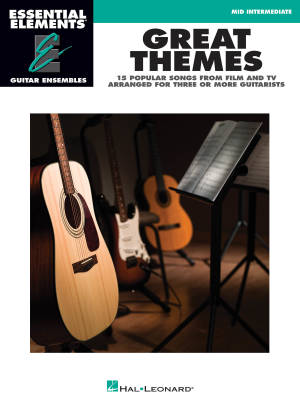 Great Themes: Essential Elements Guitar Ensembles - Book