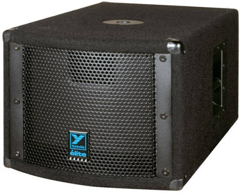 Elite Series Powered Subwoofer - 10 inch  Woofer - 200 Watts