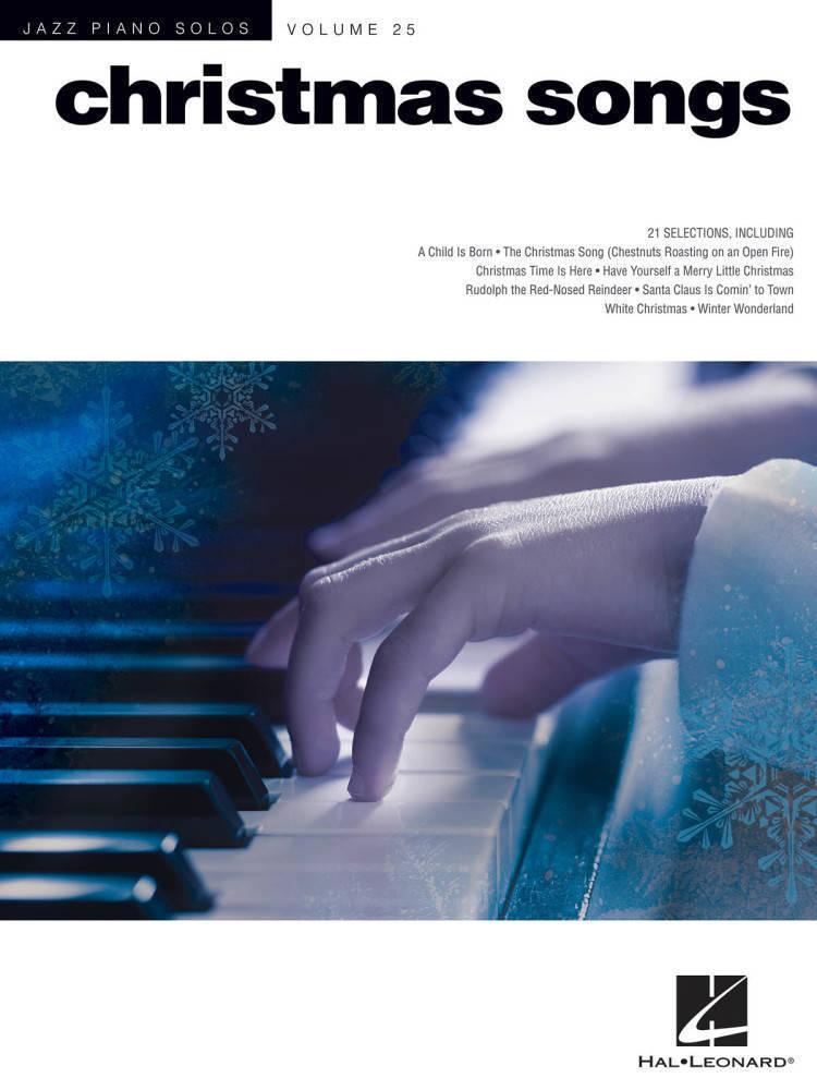 Hal Leonard - Christmas Songs: Jazz Piano Solos Series Volume 25 - Piano -  Book