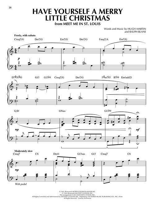Christmas Songs: Jazz Piano Solos Series Volume 25 - Piano - Book