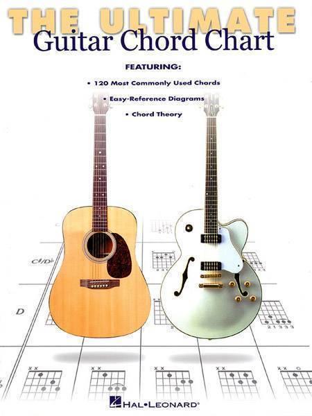 Hal Leonard Ultimate Guitar Chord Chart Long Mcquade Musical