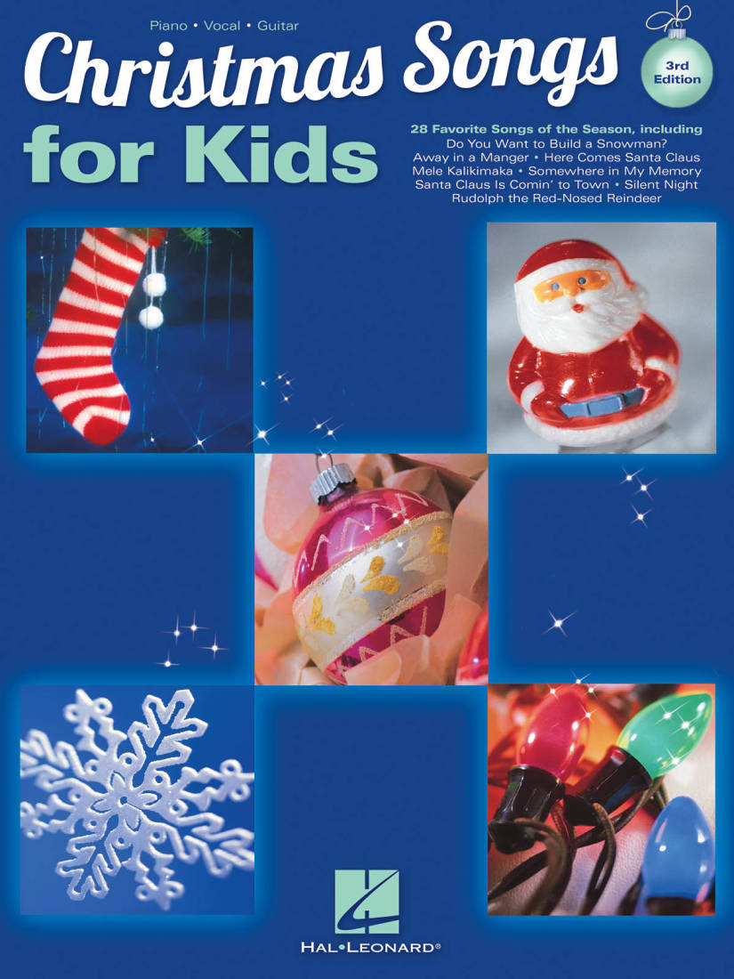 Hal Leonard Christmas Songs For Kids 3rd Edition Pianovocal